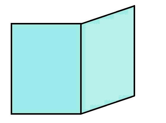 vitre et verre prismatique / pliée pour invicta   vitre insert cheminée