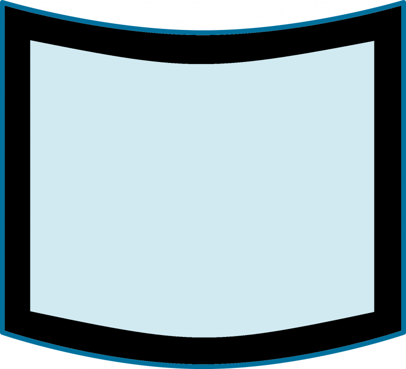 vitre et verre bomb e pour po le bois vitre insert. Black Bedroom Furniture Sets. Home Design Ideas