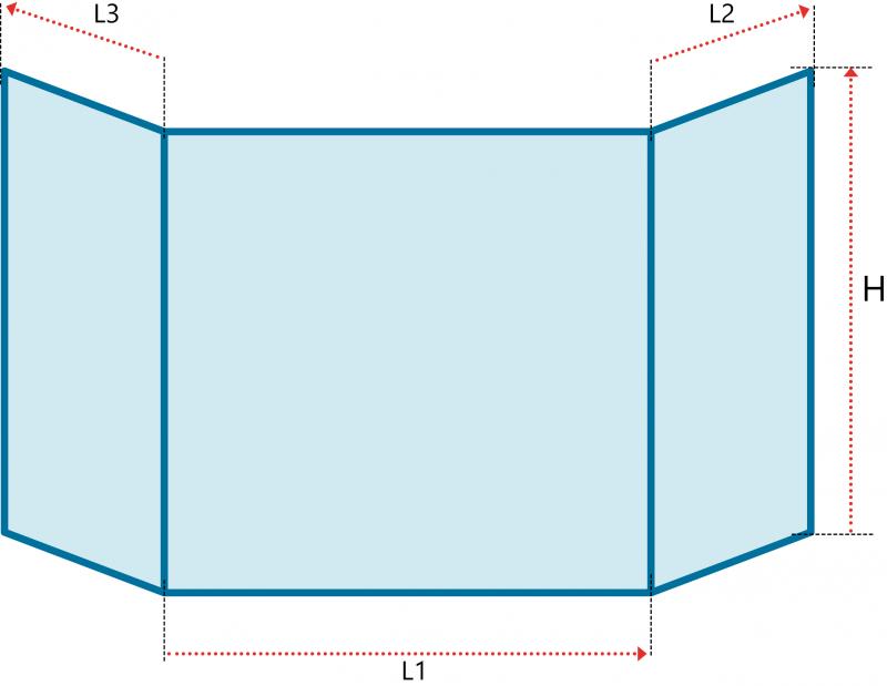 vitres sp ciales vitre prismatique vitre insert de chemin e et po le cass e remplacement. Black Bedroom Furniture Sets. Home Design Ideas