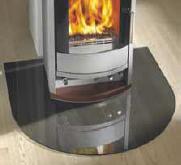 plaque de sol en verre fum pour po le protection sols. Black Bedroom Furniture Sets. Home Design Ideas