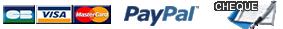 CB / Paypal / Chèque